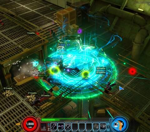 Marvel Heroes in-game screenshot 1
