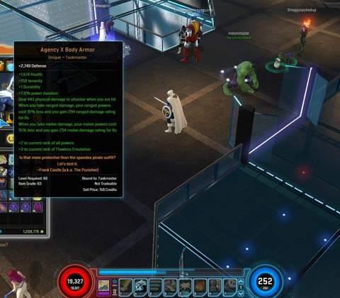 Marvel Heroes in-game screenshot 8