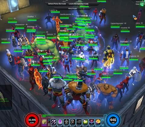 Marvel Heroes in-game screenshot 9