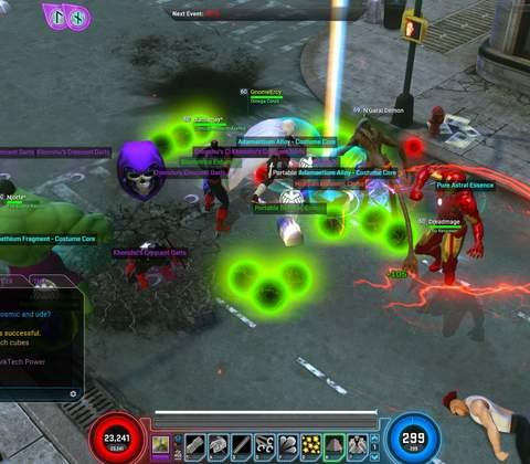 Marvel Heroes in-game screenshot 10