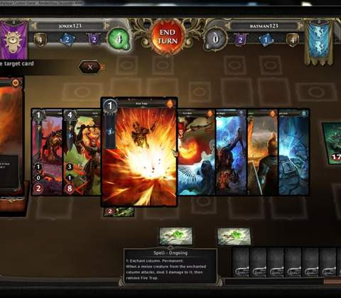 Might & Magic Duel of Champions in-game screenshot 2