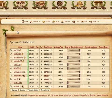 My Gladiators in-game screenshot 4