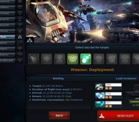 Ogame in-game screenshot 3