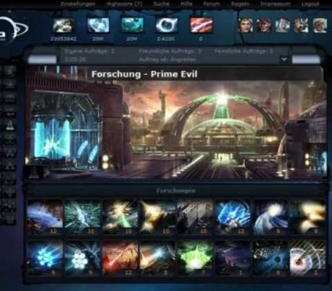 Ogame in-game screenshot 1