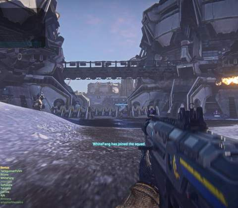 PlanetSide 2 in-game screenshot 1