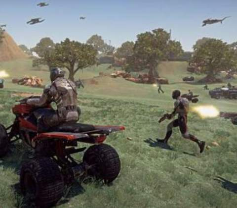 PlanetSide 2 in-game screenshot 2