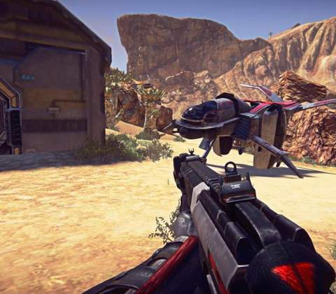 PlanetSide 2 in-game screenshot 5