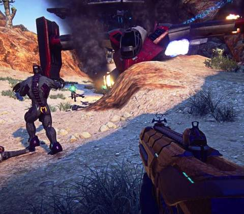 PlanetSide 2 in-game screenshot 6