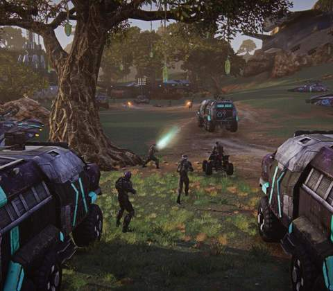 PlanetSide 2 in-game screenshot 8