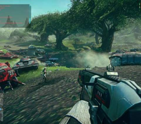 PlanetSide 2 in-game screenshot 9