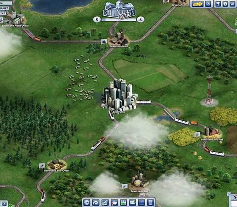 Rail Nation in-game screenshot 3