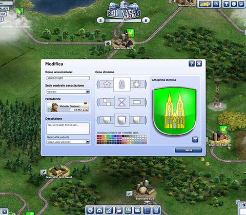 Rail Nation in-game screenshot 4