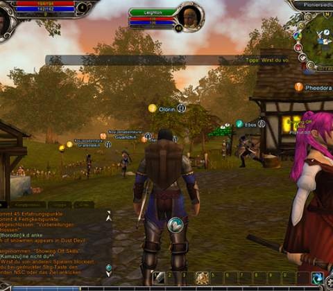 Runes of Magic in-game screenshot 5