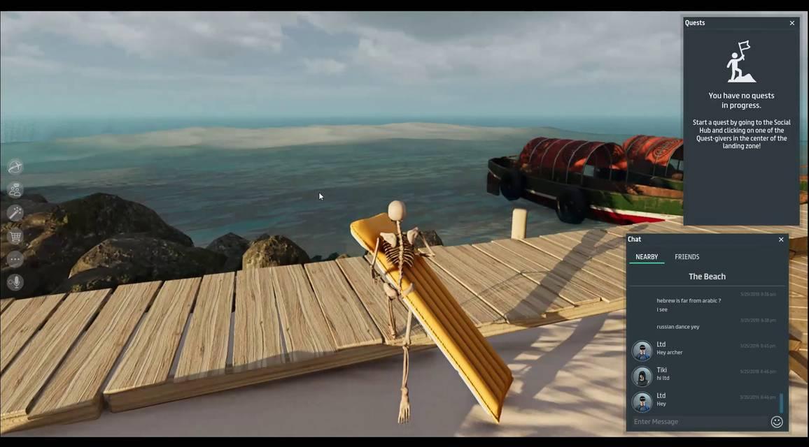 Review of Sansar - MMO & MMORPG Games