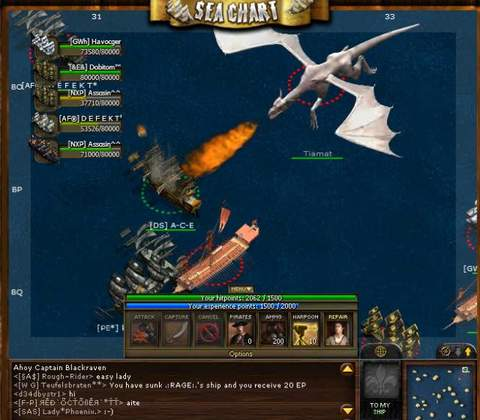 Sea Fight in-game screenshot 3