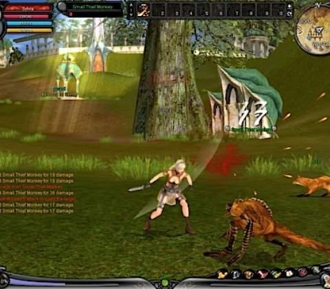 Shaiya in-game screenshot 2
