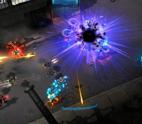 Shards of War in-game screenshot 1