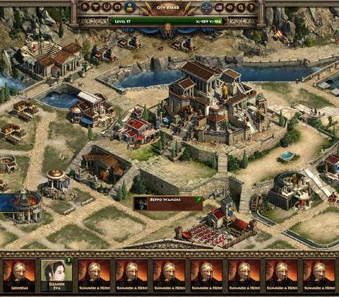 Sparta: War of Empires in-game screenshot 6