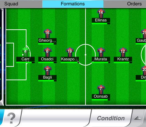 Top Eleven in-game screenshot 3