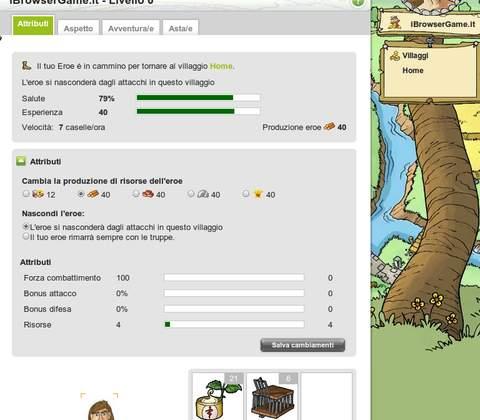 Travian in-game screenshot 3