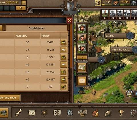 Tribal Wars 2 in-game screenshot 6