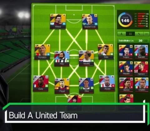 United 11 in-game screenshot 2