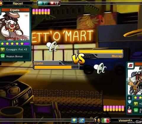 Urban Rivals in-game screenshot 4