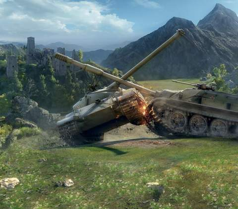 World of Tanks in-game screenshot 6