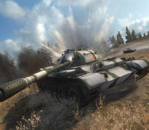World of Tanks in-game screenshot 8