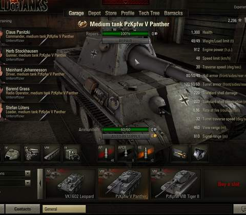 World of Tanks in-game screenshot 9