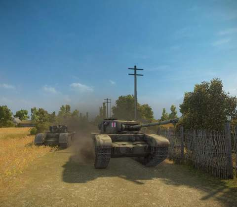World of Tanks in-game screenshot 10