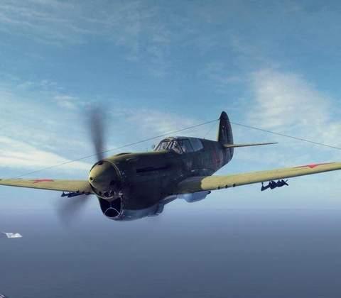 World of Warplanes in-game screenshot 1