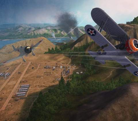 World of Warplanes in-game screenshot 2