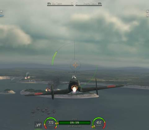 World of Warplanes in-game screenshot 3