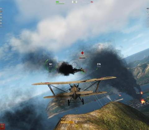 World of Warplanes in-game screenshot 4
