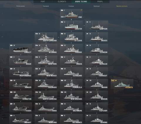 World of Warships in-game screenshot 12