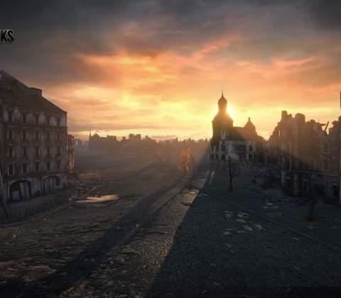 World of Tanks in-game screenshot 1