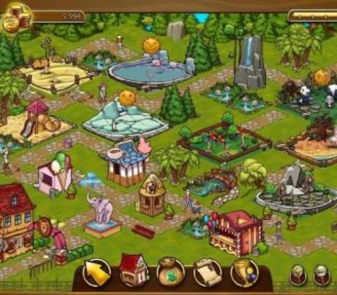 Zoomumba in-game screenshot 1