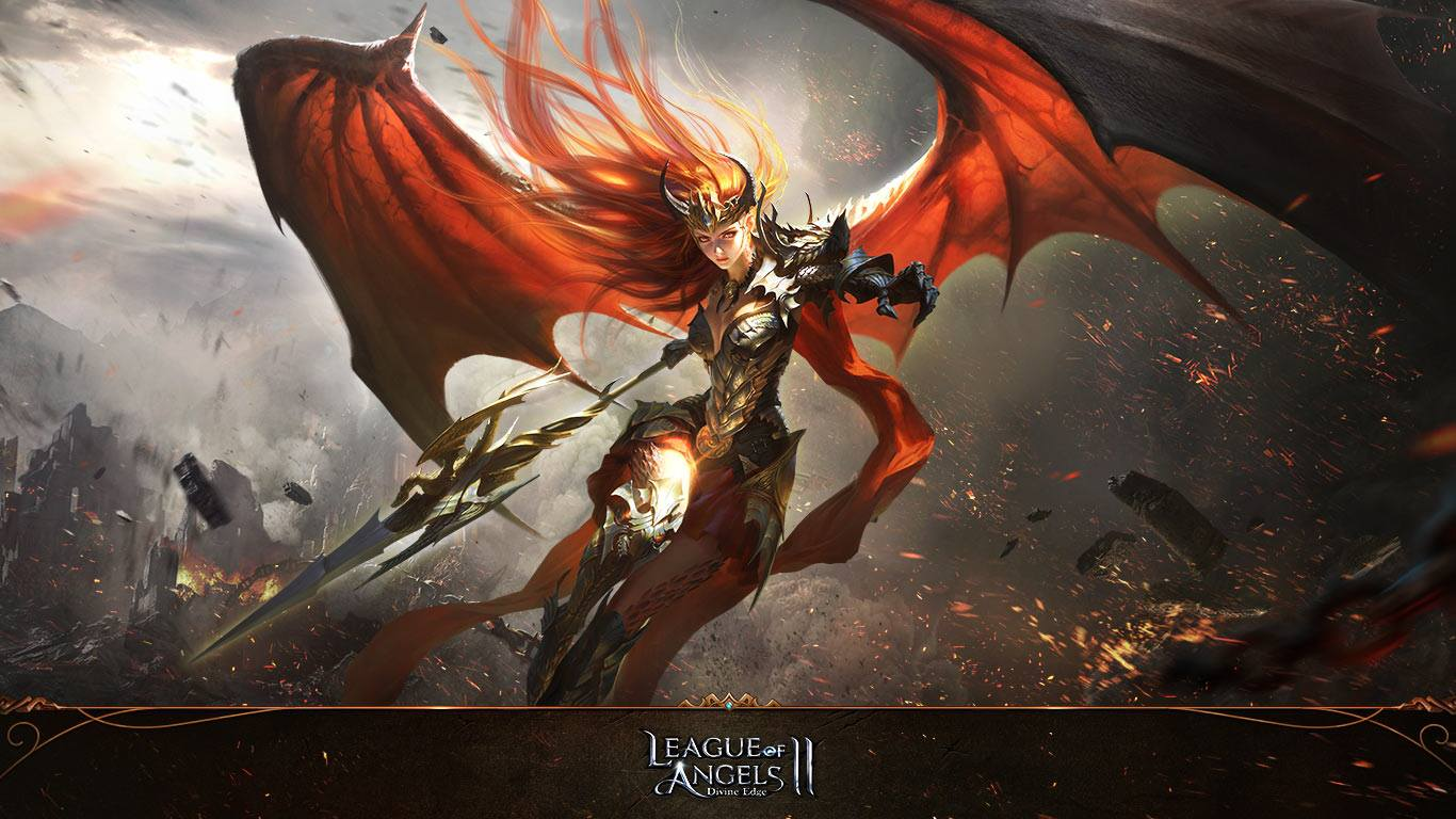 Populaire Review of League of Angels II - MMO & MMORPG Games PJ96